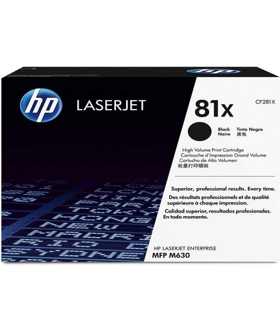 HP LaserJet 81X High Yield Original Black Toner Cartridge CF281X