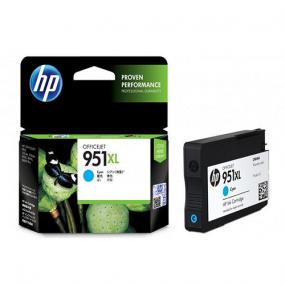 HP 951XL High Yield Cyan Original Ink Cartridge (CN046AE)